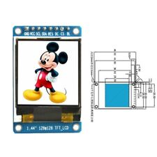 "1.44"" 128x128 SPI Full Color 65K TFT LCD Display Module ST7735 OLED for Arduino"