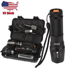 Linterna Tactica Militar LED 8000 Lumen X800 Torch G700