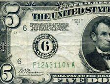 Rare 1928-A $5 FRN (( Atlanta )) Beautiful Note # F12431104A.