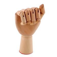 18X6cm Wooden Artist Right Hand Gift Art Alternatives Hand Decoration Decoracao