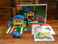 Lego 361 Tea Garden Cafe with Baker's Van Boxed with Instructions Vintage Retro