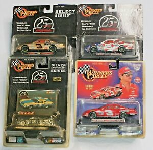 NASCAR Winners Circle Hasbro Lot Earnhardt Bass Pro Coca-Cola Mike Curb Olds
