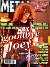 METAL SHOCK N. 336 MAGAZINE 1/15 Giugno 2001 TRIBUTO A JOEY RAMONE Rivista Rock