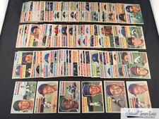 (152) 1956 Topps baseball cards vintage lot, avg ~EX,  *SEWALL* (JCA)