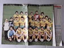 RARE POSTER PRESSE OCEAN / FC NANTES SAISON 1981/82