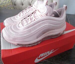 Women's Nike Air Max 97 Women's Size 8 Shoes Barely Rose READ DESCRIPTION