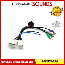 Car Stereo Amplified Active Speaker Adaptor for Nissan Pathfinder 1996-2004
