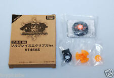 TAKARA TOMY JAPAN BEYBLADE METAL FUSION LIMITED BLACK SOL BLAZE V145AS RARE