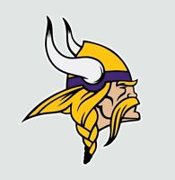 Minnesota Vikings NFL Football Color Logo Sports Decal Sticker-Free Shipping