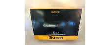 Vintage (1991) Sony Discman D-33 Portable CD Player. Working Condition