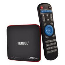 Mecool M8S pro con Android 7.1 Tv-Box 4k H.265 2.4GHz Wi-Fi Quad Core 2 + 16GB