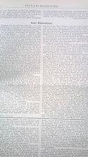 1887 42 Berlino Imperatore Wilhelm Ponte