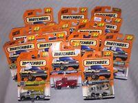 U CHOOSE 99 MATCHBOX SERIES 3 HWY HAULERS MATTEL WHEELS SCALE 1/64 DIE CAST CARS