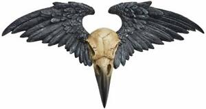 Wall Hanging/Figurine - Gothic/Fantasy/Mystery/Pagan - Ravenger (Raven) Plaque