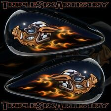 Virtual Consultation for Custom Paint and Airbrushing Services TripleSixArtistry