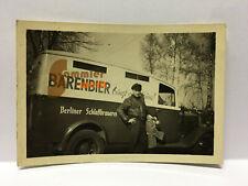 altes Foto Bier-LKW/ BÄRENBIER bringt gute Laune! / Berliner Schloßbrauerei