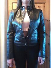 womens emporio armani leathet jacket