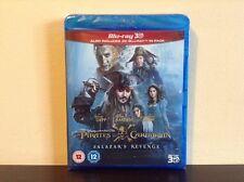 Pirates of the Caribbean: Salazar's Revenge 3D [Blu-ray 3D + Blu-ray] BRAND NEW