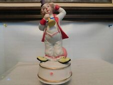 Porcelain Musical Clown, Made in Taiwan