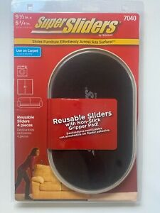 Reusable Furniture Sliders, Gliders, Extra Large Super Sliders by Waxman