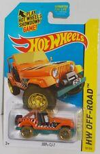 Hot Wheels 2015 Regular Treasure Hunt  HW Off-Road  JEEP CJ-7 TH  MOMC