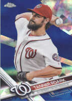 TANNER ROARK 2017 TOPPS CHROME SAPPHIRE EDITION #212 ONLY 250 MADE