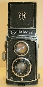 Rolleicord III 75mm F3.5 Xenar Lens with Cap & Case