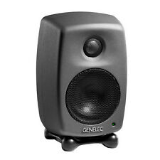 Genelec 8010a Active Studio Monitor Dark Grey
