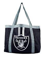 NFL Oakland Raiders Tailgate Tote Bag Shoulder Diaper Bag