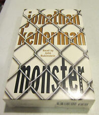 MONSTER by Jonathan Kellerman  - audiobook  1999 - 3 cassettes 5 hrs - EC