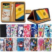 Para Varios Teléfono inteligente MOTOROLA RAZR/Droid cuero inteligente con soporte billetera Cubierta Estuche