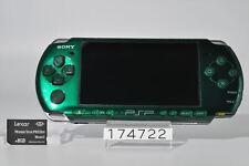 Vy good SONY PSP-3000SG PSP 3000 Spirited Green Playstation portable 8GB 174722