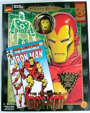 "NEW ✰ Marvel Comics Famous Covers Series IRON MAN 8"" Action Figure Toy Biz 1998"