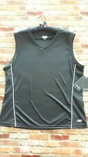 Womens Reebok Black Activewear Side Mesh Detail Tank Top Size XXL New With Tags