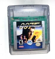 007: The World is Not Enough James Bond Nintendo Game Boy Color Game TESTED!