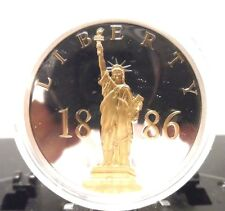"""AMERICAN MINT COMMEMORATIVE MEDALLION, """"125 YEARS OF LIBERTY"""" !!!!!"""