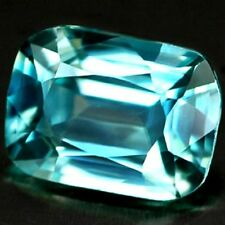 2.07 CT~ Blue Zircon ~ Octagon ~  Natural Gemstone