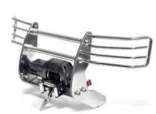 CC01 PAJERO Metal bumper bar with 3 RACING Winch