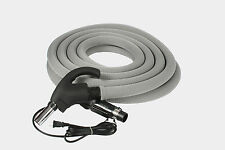 35 Foot Central Vacuum Hose with Universal Connect with Hose Sock