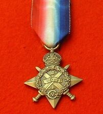 World War 1 1914 Star Full Size Medal Mons Star Medals