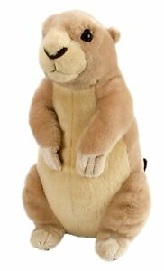 Prairie Dog Standing 12in Plush Stuffed Wildlife Animal by Wild Republic WR11037