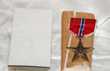 WW2 US  Boxed Bronze Star Medal Decoration --Unissued !