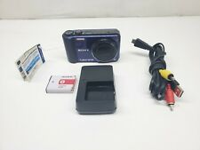 Sony Cyber-shot DSC-H70 16.1MP Digital Camera - Dark Blue