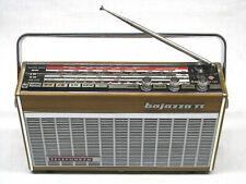 TELEFUNKEN Bajazzo TS 201 TS201 Transistorradio Kofferradio Holzfarben