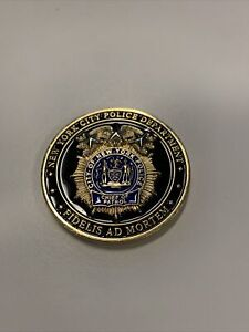 Chief Of Patrol NYPD Coin