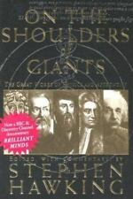 Physics Astronomy Stephen Hawking On the Shoulders of Giants Science Book