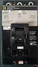 Square D Circuit Breaker LHL36400 400 Amp LHL364002100 600 Volt 3 Phase