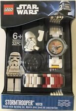 NEW! LEGO STAR WARS Stormtrooper Watch 9001949 - 32 Pieces - Great Gift!