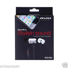 AWEI In-Ear Noise Isolating Earphone With Mic For Asus Huawei iPhone iPad Tablet