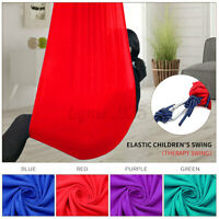 Soft Hanging Cuddle Swing Hammock For Therapy Autism ADHD Up To 80kg Sensory AU